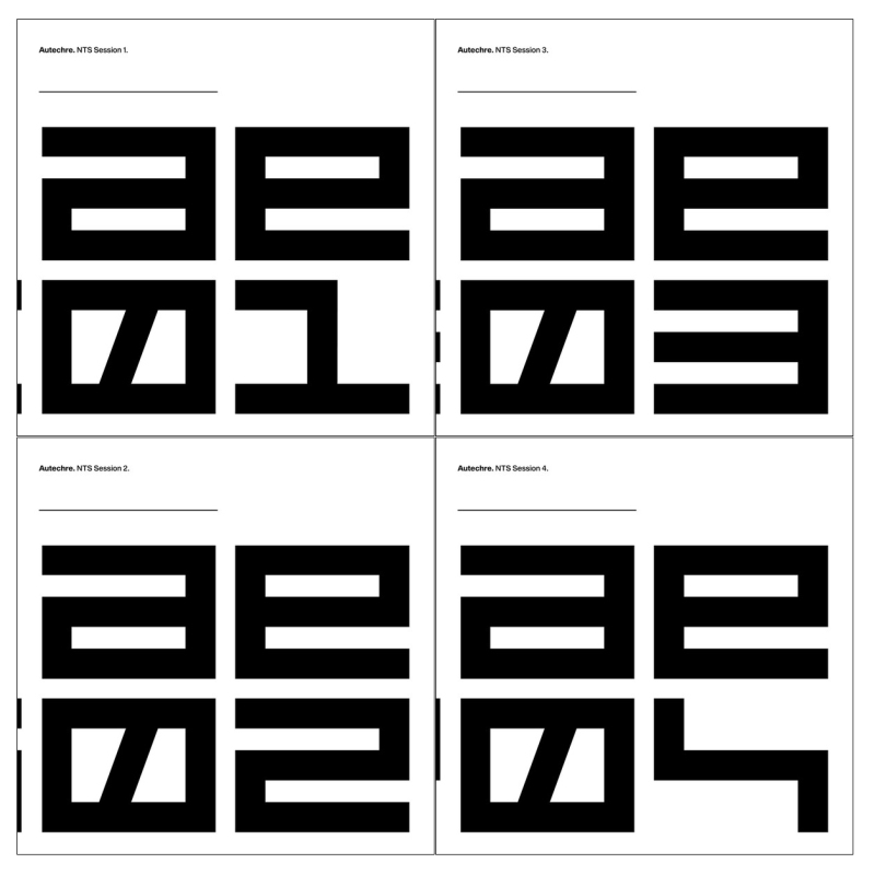 NTS Sessions 1-4 by Autechre