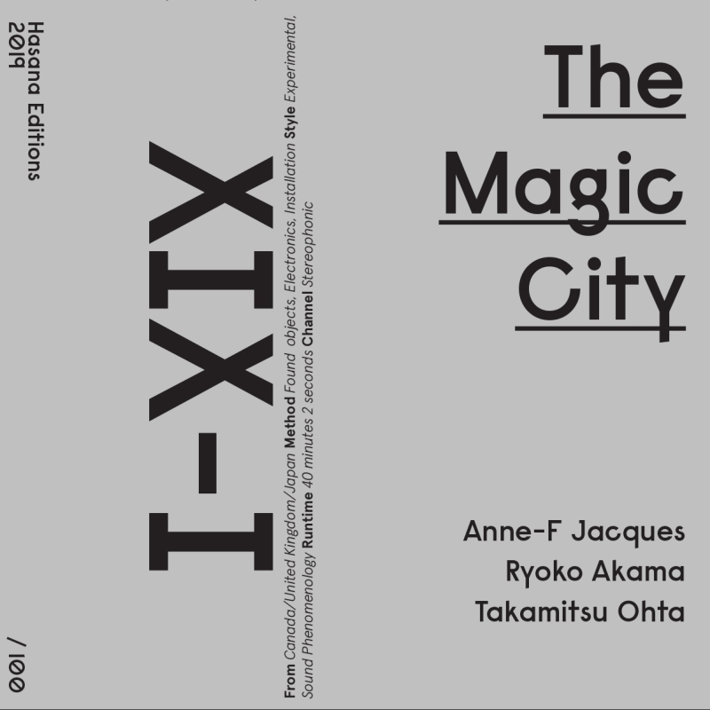 Anne-F Jacques, Ryoko Akama, Takamitsu Ohta - The Magic City - The-Magic-City_digicover